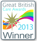 Great British Care Award winner logo