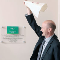 The Marquis of Normanby officially opening the extension at Peregrine House