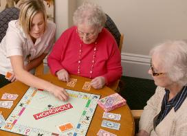 games at Peregrine House