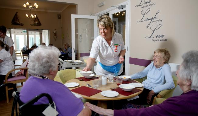 Marvellous meals at Peregrine House